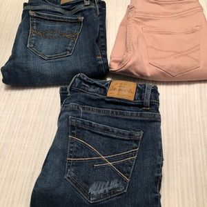 Lot Of 3 Aeropostale  (2) Abercrombie & Fitch